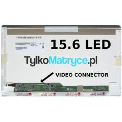 """Matryca 15.6"""" WXGA HD (1366X768) LED matowy 40 pin LED  kompatybilna z ACER Extensa 5635-4224"""
