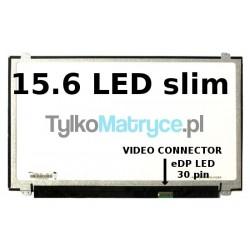 "Matryca 15.6"" WXGA HD (1366X768) LED matowy 30 pin eDP  kompatybilna z ACER Extensa EX2540 Series"