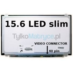 "Matryca 15.6"" WXGA HD (1366X768) LED glossy 40 pin LED  kompatybilna z ACER TravelMate Timeline 8571-352G25MN"