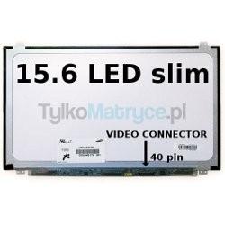 "Matryca 15.6"" WXGA HD (1366X768) LED glossy 40 pin LED  kompatybilna z ACER TravelMate Timeline 8571-8181"